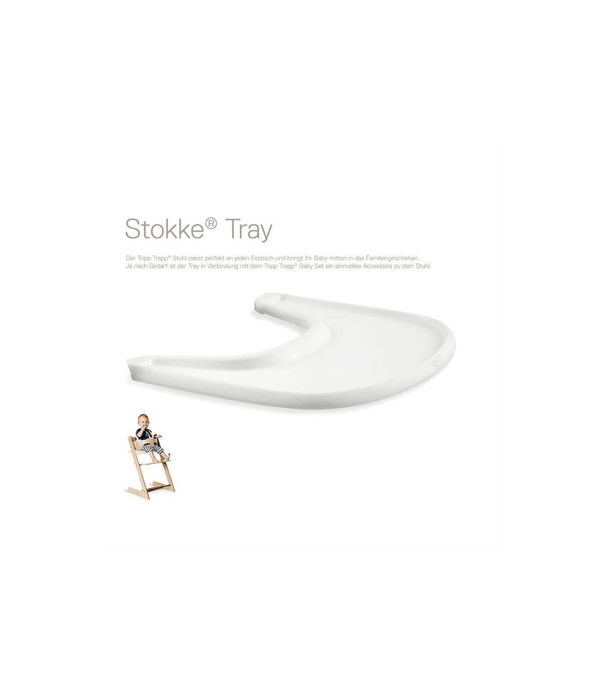 Stokke Tray Weiss (Tisch für Tripp Trapp)
