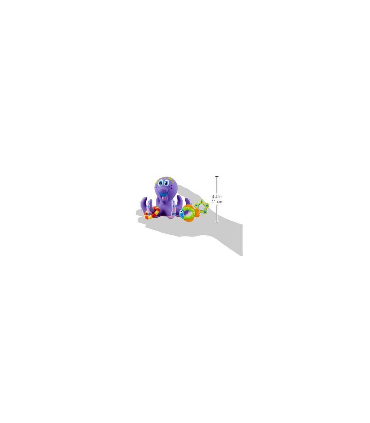 Nûby Schwimmender Oktopus mit Spielfiguren