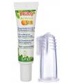 Nûby Finger-Zahnbürste mit Zahncrème (20g)