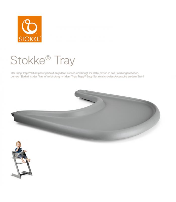 stokke tray storm grey tisch f r tripp trapp hw baby center. Black Bedroom Furniture Sets. Home Design Ideas