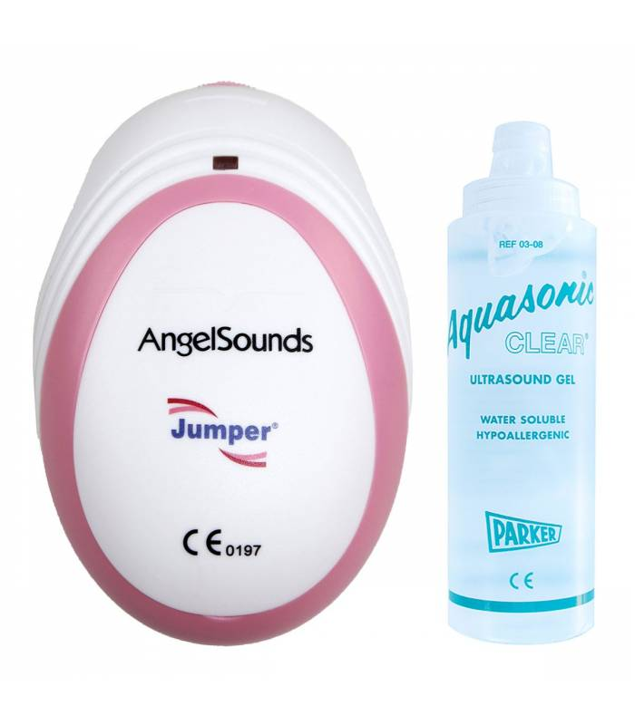 AngelSounds Fetal-Doppler MIT Kontaktgel 250ml