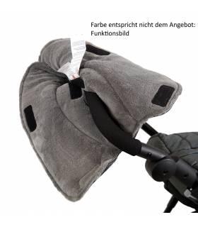 Kaiser Handwärmer Alaska Fleece schwarz/melange