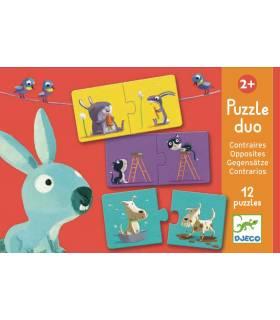 Djeco Puzzle Duo Gegensätze