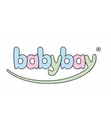 Babybay Original Nestchen Weiss Punkte-Grau