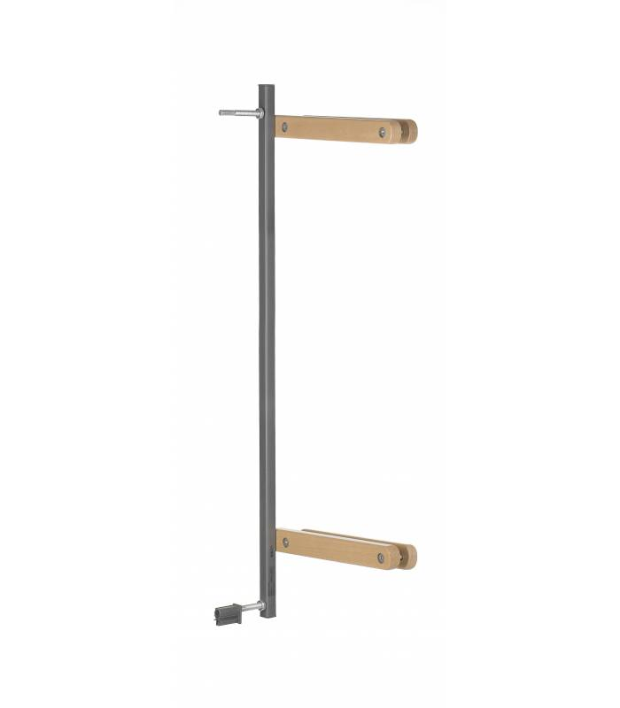 Geuther Easylock Wood Plus Zusatzklemmen Set (Natur/Silber)