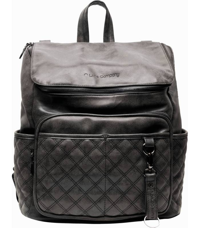 Little Company Wickelrucksack Lissbon Quilted Black
