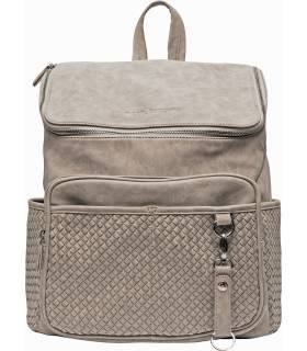 Little Company Wickelrucksack Lissbon Braided Taupe