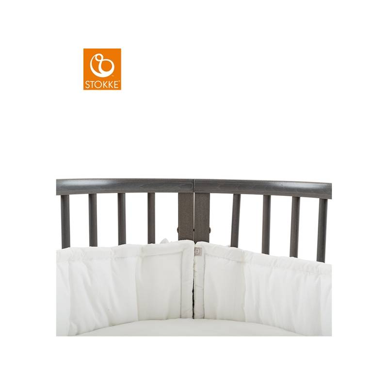 stokke sleepi nestchen f r mini bett weiss 2361 kleiden. Black Bedroom Furniture Sets. Home Design Ideas