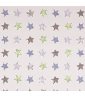 Geuther EuroParc Plus Laufgitter 97x97 Weiss (Folie 32 Sterne)