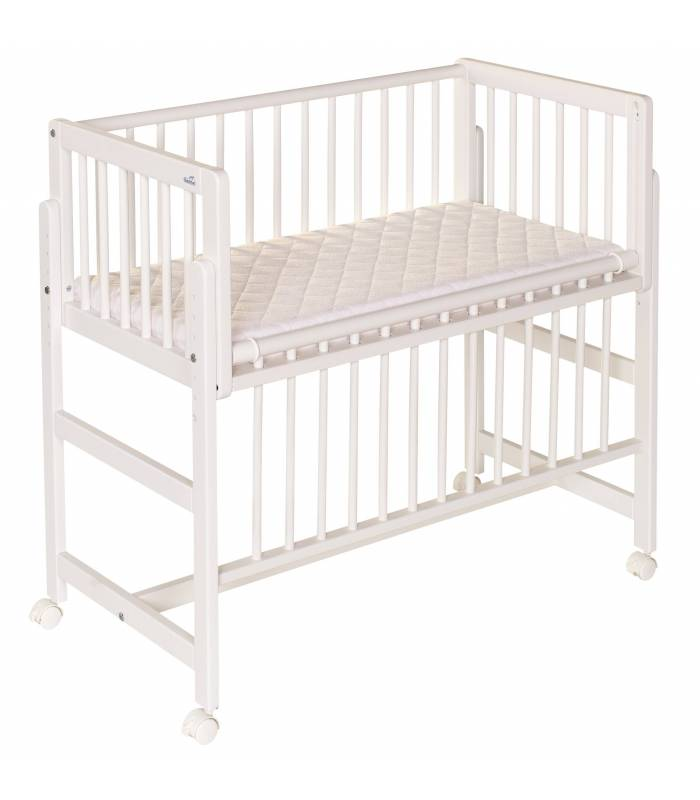 geuther betsy bett an bett beistellbett weiss hw baby center. Black Bedroom Furniture Sets. Home Design Ideas