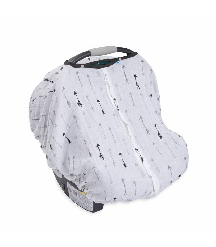 Little Unicorn Car Seat Canopy - Arrow