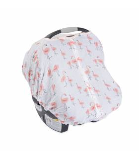 Little Unicorn Car Seat Canopy - Pink Ladies