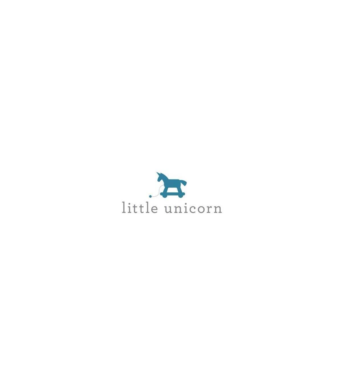 Little Unicorn Mullwindeln 120x120 (Nuscheli) 3er Pack - Weiss