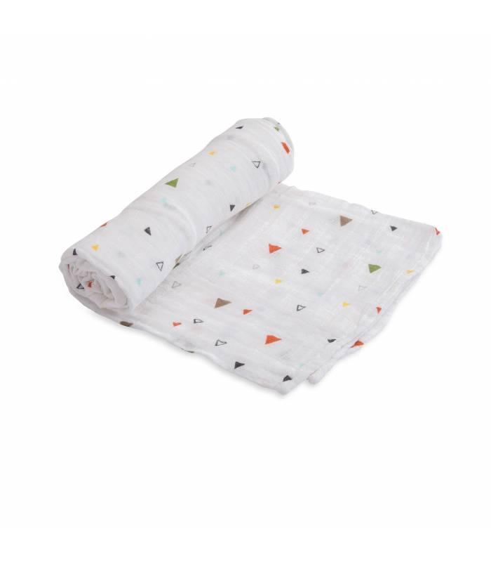 Little Unicorn Mullwindeln 120x120 (Nuscheli) Einzel Pack - Sprinkles