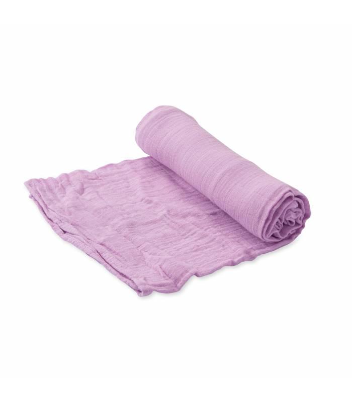 Little Unicorn 100% Bio-Baumwoll Mullwindeln 120x120 (Nuscheli) Einzel Pack - Pink Lilac
