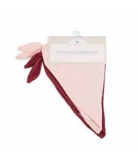 Little Unicorn Deluxe Bandana Bambuslätzchen 2er Pack - Blush