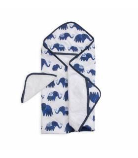 Little Unicorn Kapuzentuch und Waschlappen - Indie Elephant