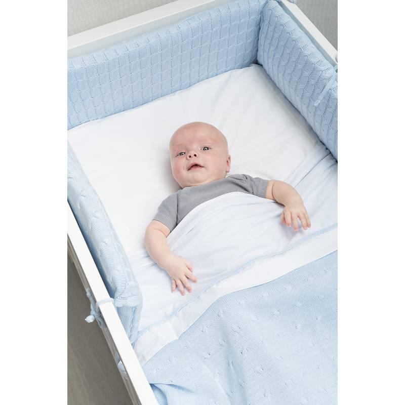 Baby S Only Bett Nestchen Cable Klassisch Rosa 9514 Mit Dem