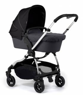 iCandy Raspberry Gestell Chrome mit Flavor-Pack Bloomsbury-Black