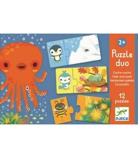Djeco Puzzle Duo Verstecken Spielen