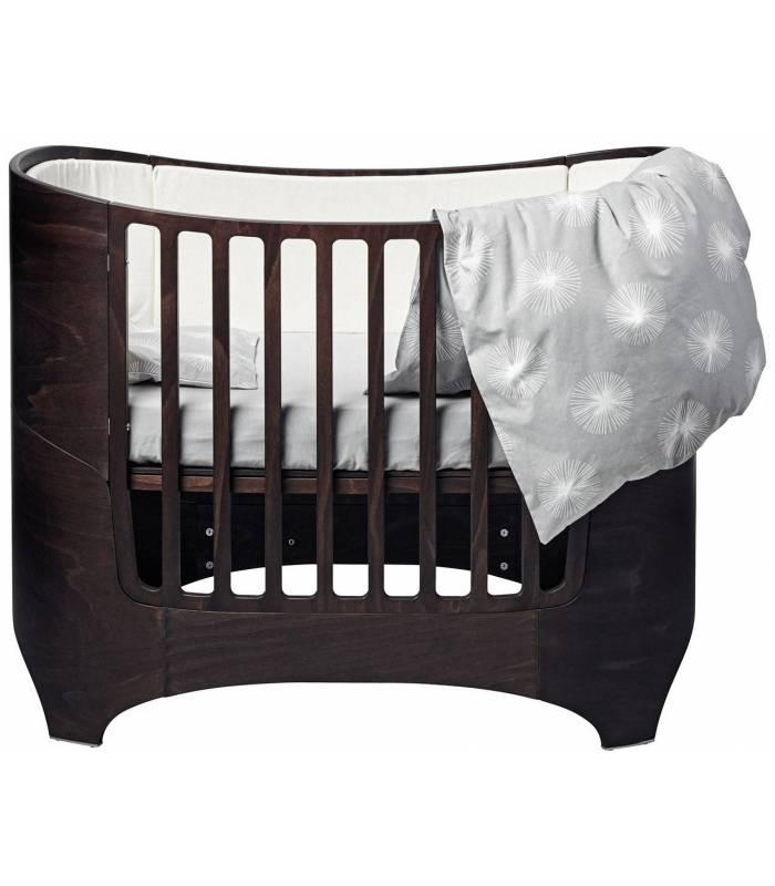 Leander Baby-Junior Bett - Nussbaum