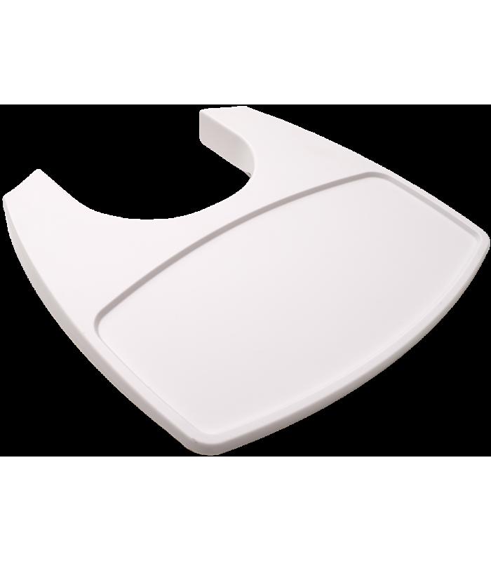 Leander Tablett für Hochstuhl - Weiss