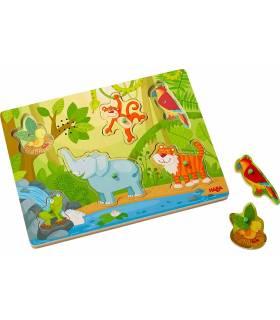Haba Sound-Greifpuzzle Im Dschungel