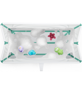 Stokke Flexi Bath (flexible Badewanne) White Aqua