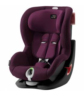 Römer/Britax King II LS Black Series - Burgundy Red  (9-18 kg)