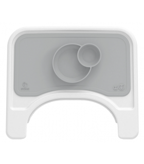 Stokke Steps Tischset für Tray-Tablett Gray (ezpz by Stokke)