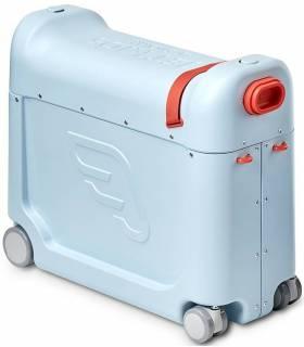 Stokke JetKids Bedbox Blue (Kinder-Koffer verwandelbar in Flugbett)