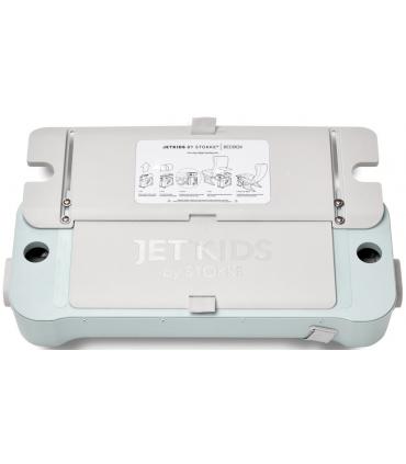 Stokke JetKids Bedbox Mint-Green (Kinder-Koffer verwandelbar in Flugbett)