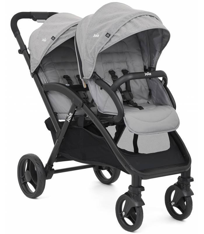 "Joie Evalite Duo Geschwister-Buggy ""Gray Flanell"""