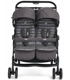 "Joie Aire-Twin Zwilling- & Geschwister-Buggy ""Dark Pewter"""