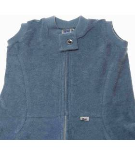 Zewi Bébé-Jou Fix-Decke Uni  (Reissverschluss-Vorne) Blau