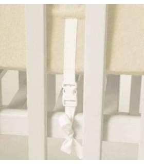 Zewi Bébé-Jou Fix-Decke Uni  (Reissverschluss-Vorne) Ciel