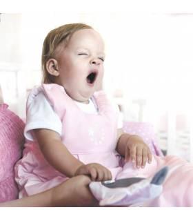 Zewi Bébé-Jou Schlafsack Tencel Rose