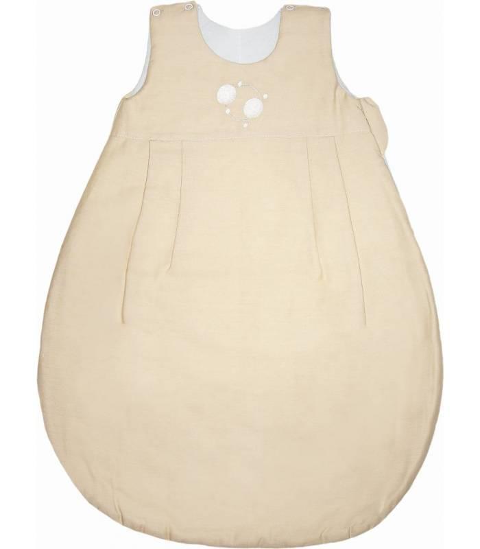 Zewi Bébé-Jou Schlafsack Tencel Ecru