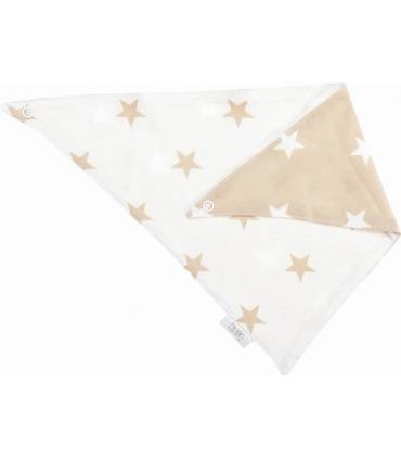 Zewi Bébé-Jou Halstuch Interlock Beige Stars