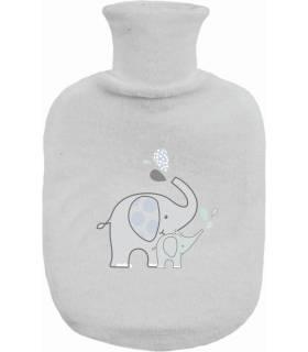 Zewi Bébé-Jou Gummibettflasche mit Frotteeüberzug Ollie
