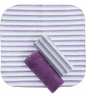 Zewi Bébé-Jou Waschtücher 3 Stück Violett