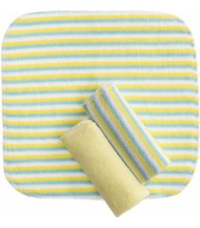 Zewi Bébé-Jou Waschtücher 3 Stück Gelb