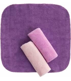 Zewi Bébé-Jou Waschtücher 3 Stück Pink