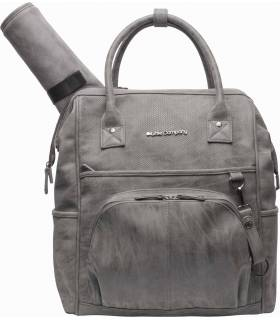 Little Company Wickelrucksack Riga Knit Taupe
