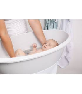 LUMA Babybadewanne Light Grey