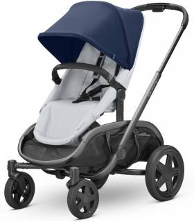 "Quinny Hubb ""Navy on Grey"" (Modularer-4-Rad-Kinderwagen)"