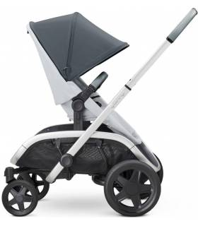 "Quinny Hubb ""Graphite on Grey"" (Modularer-4-Rad-Kinderwagen)"