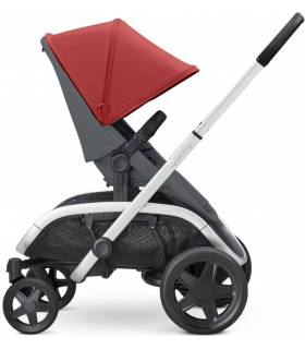 "Quinny Hubb ""Red on Graphite"" (Modularer-4-Rad-Kinderwagen)"