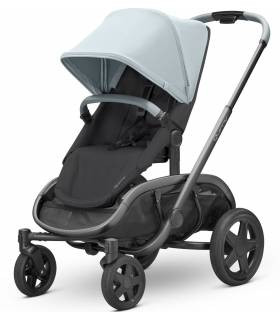 "Quinny Hubb ""Frost on Black"" (Modularer-4-Rad-Kinderwagen)"