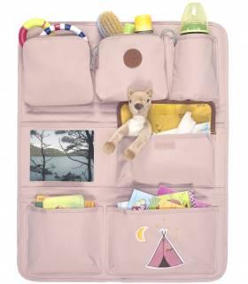 Lässig 4-Babys Car Wrap-to-Go - Tipi (Autositz-Tasche)